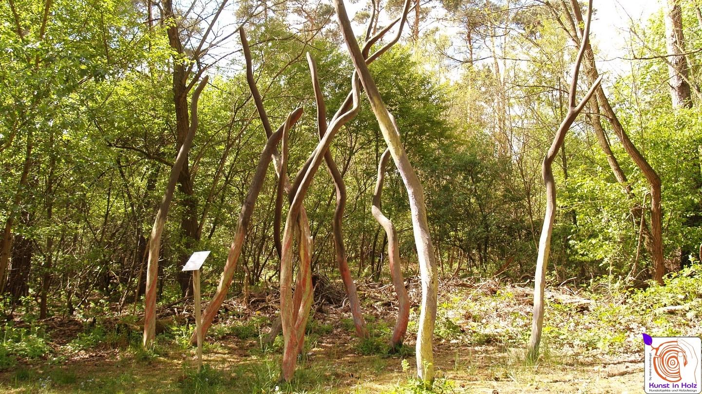 Kreative Gruppe - Holzskulpturen von Mario Mannhaupt