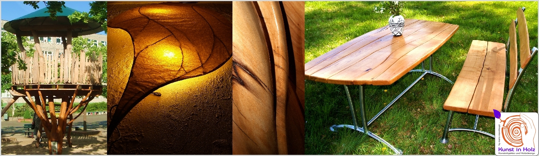 Holzdesign - Baumhaus, Gartenmoebel, Licht