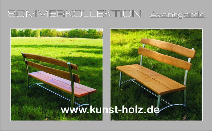 Hochwertige Gartenbank und Gartentisch Made in Germany