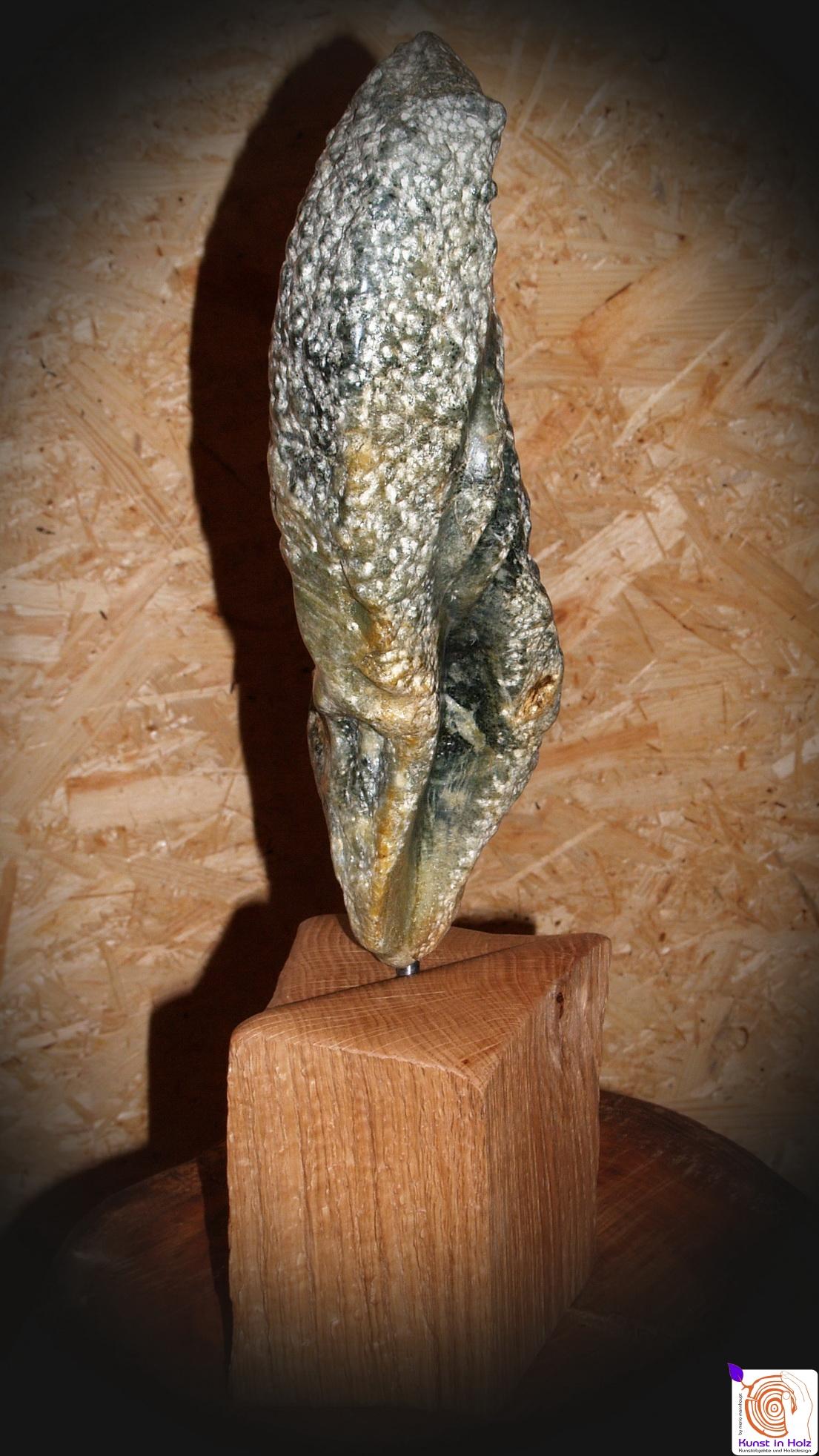 Speckstein-Skulptur