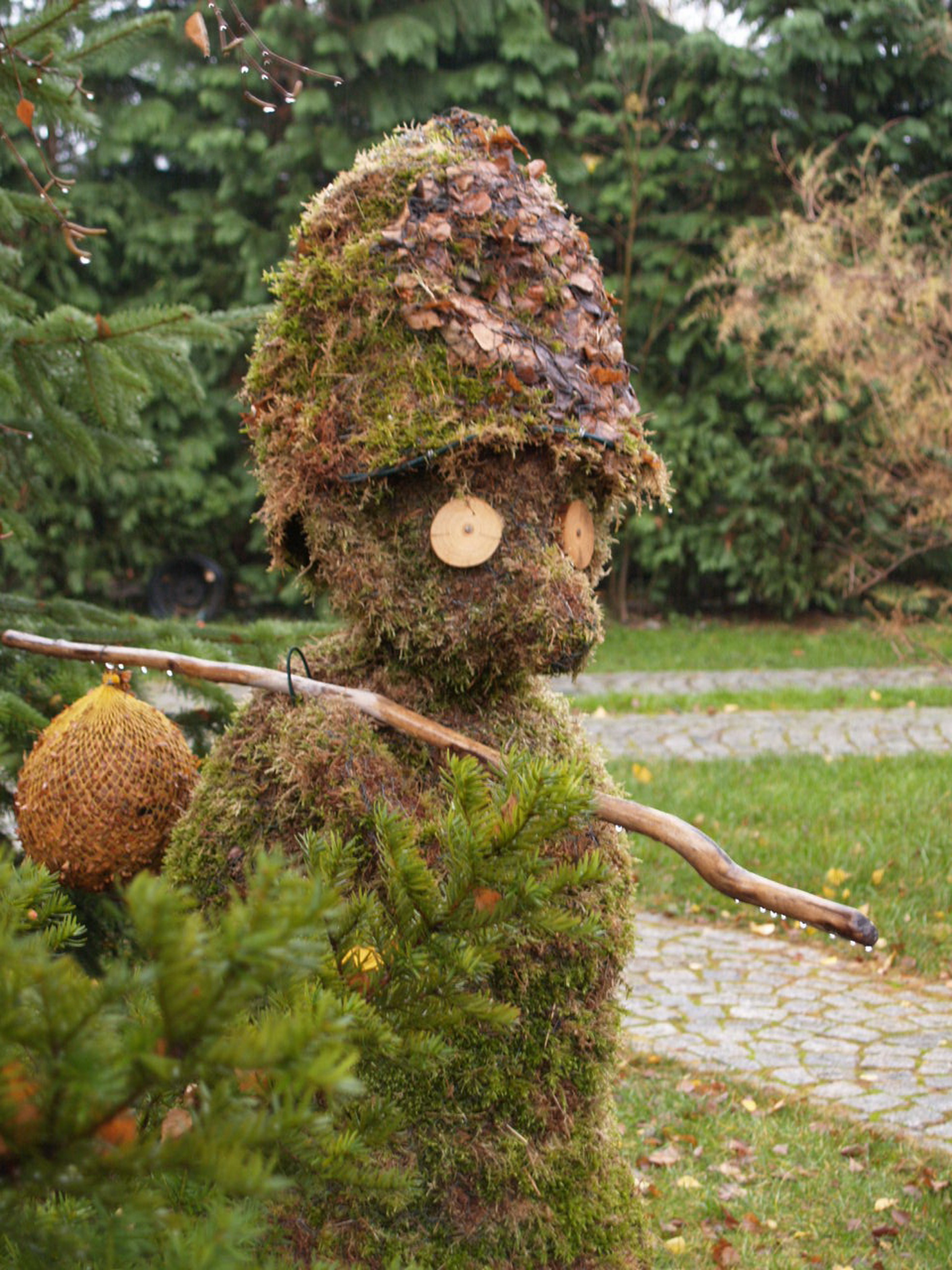 Hoerbe -Kunst aus Naturmaterial