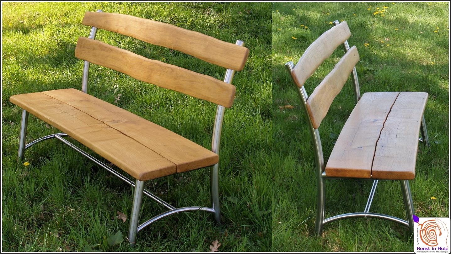 gartentisch und gartenbank 2009 04 kunst in holzkunst in. Black Bedroom Furniture Sets. Home Design Ideas
