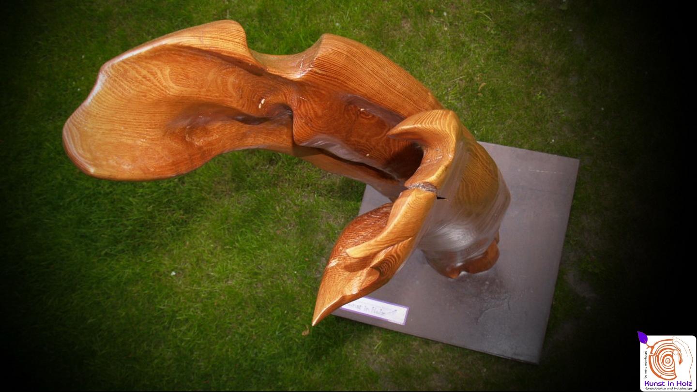 Holzskulptur - Stele 2014
