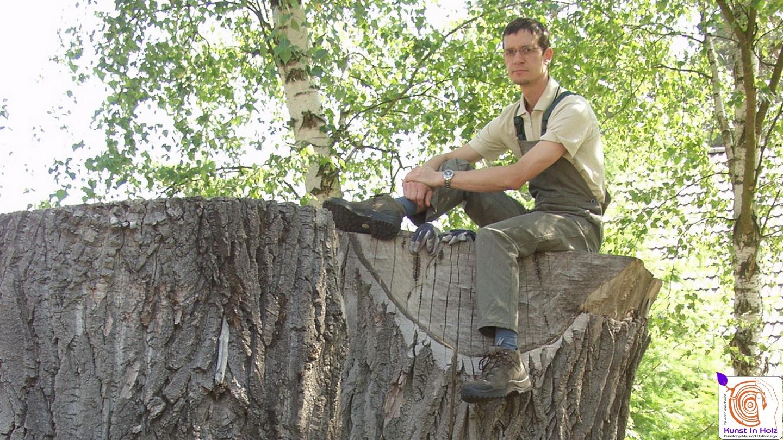 Skulptur vertieft - Bildhauerei und Holzgestaltung - Mario Mannhaupt