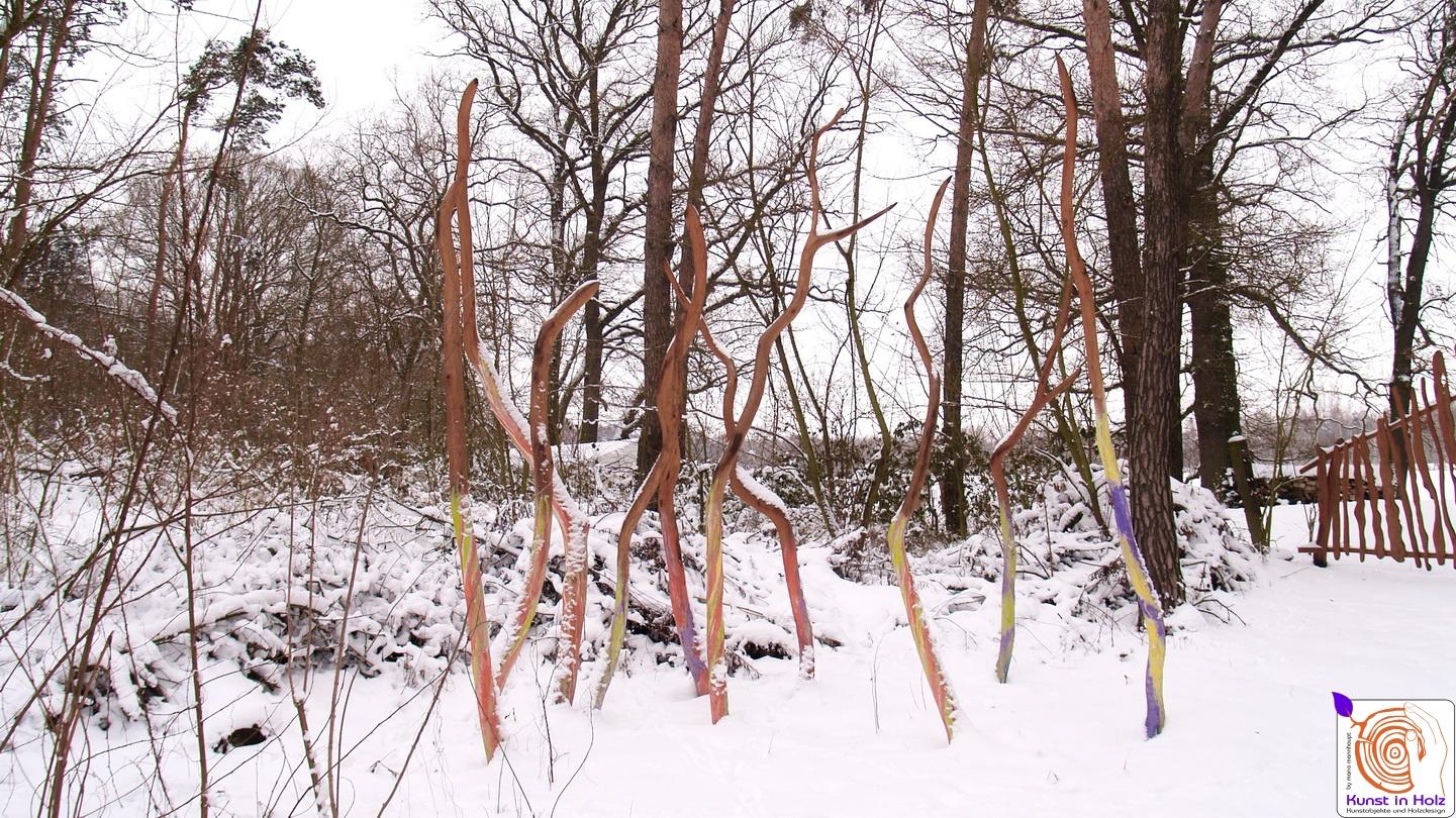 Kreative Gruppe - Kunst in Holz