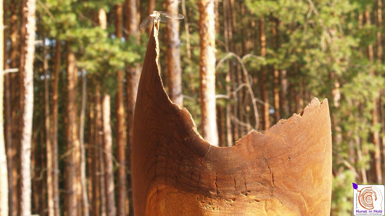Tänzer - Holzskulptur die sanft im Wind schwingt!