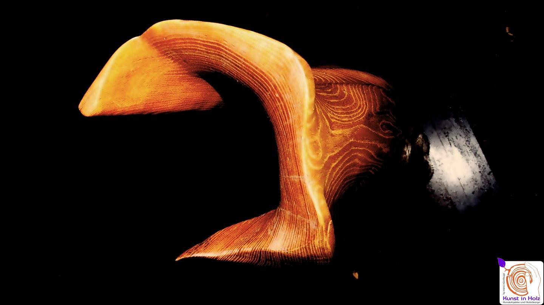 Holzstele - begin von Kunst in Holz