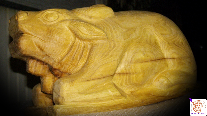 Holz-Bildhauerei - Kunst für den Garten