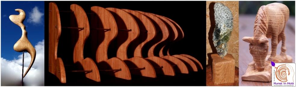 Indoor - Kunst in Holz
