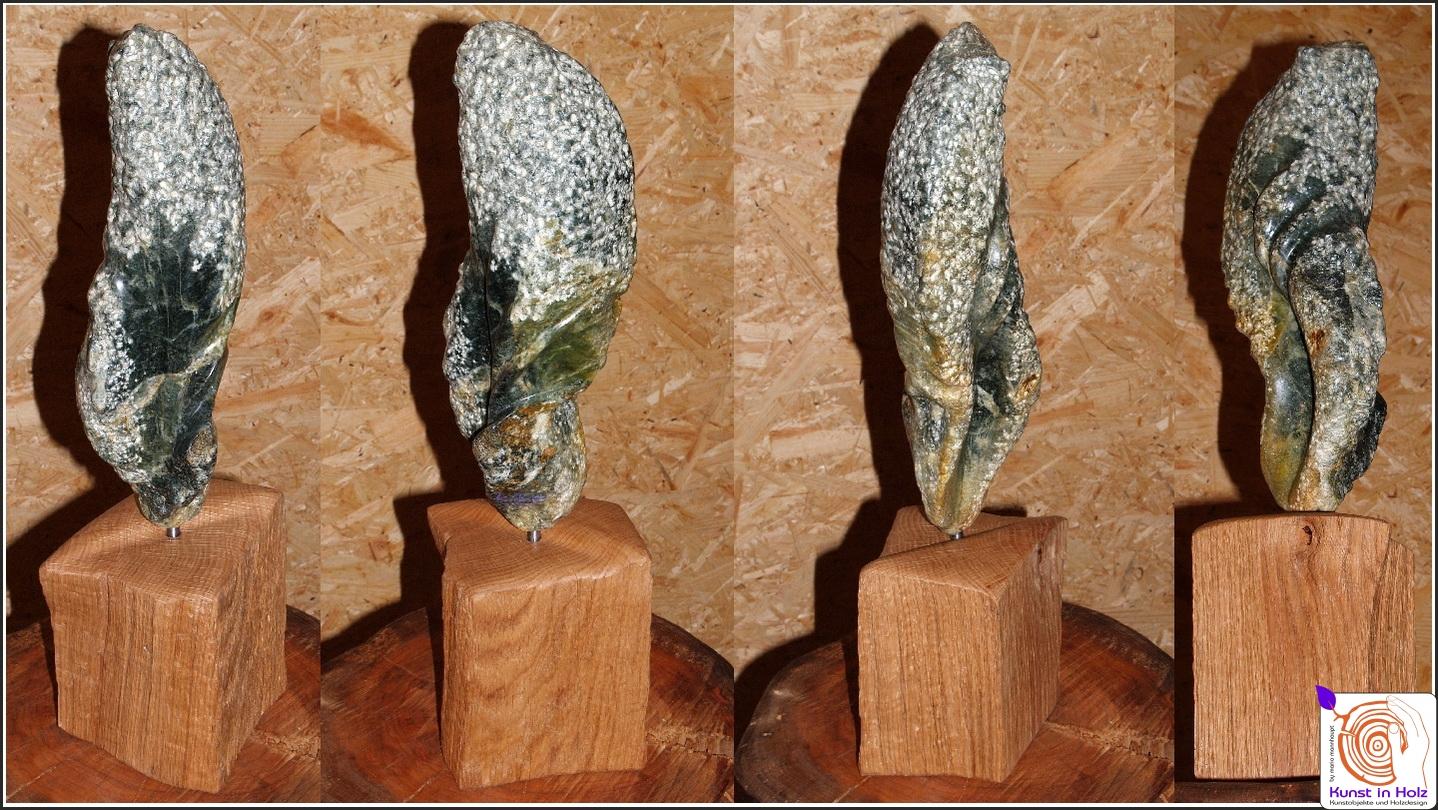 Speckstein-Skulptur - Kunst aus Stein und Holz by Mario Mannhaupt