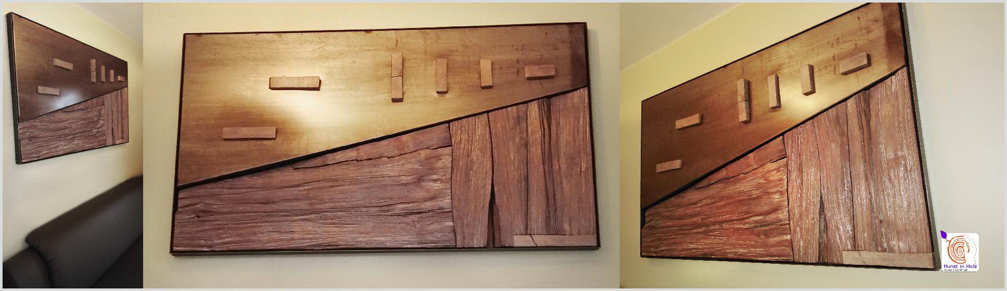 Wandgestaltung bei Kunst in Holz - Mario Mannhaupt